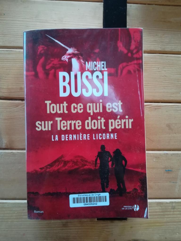 la dernière licorne, Michel Bussi